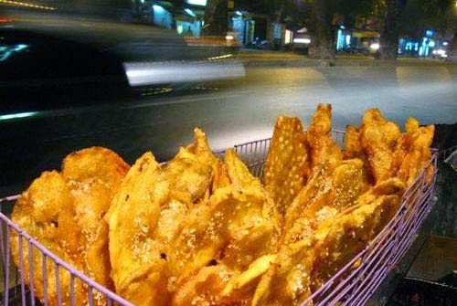 Tasting Snack Foods in Hanoi