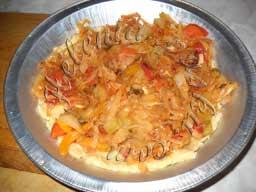 пирог с яичной заливкой