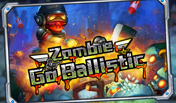 Zombie Go Ballistic: Rampaging Gameplay