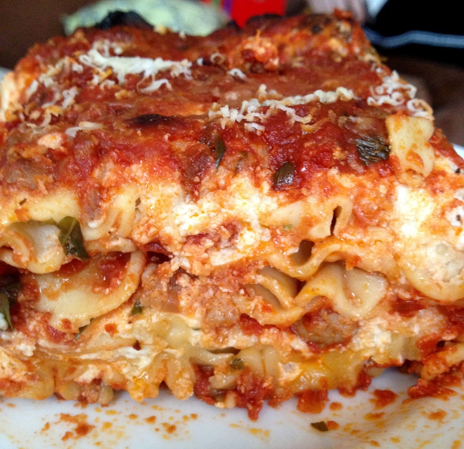 ... door baked goods: Dinner tonight: Ina Garten's turkey sausage lasagna