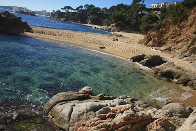 Cap Roig beach in Costa Brava
