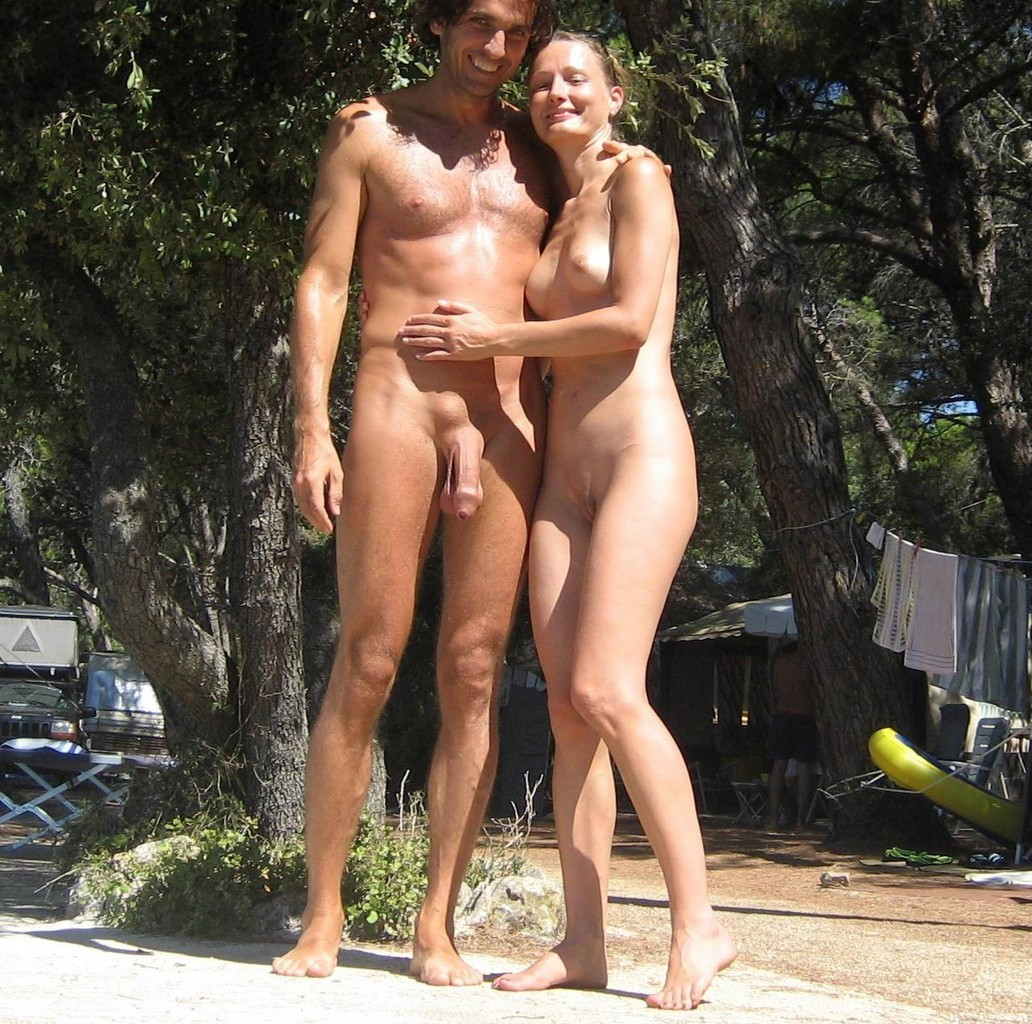 nudist beach couple
