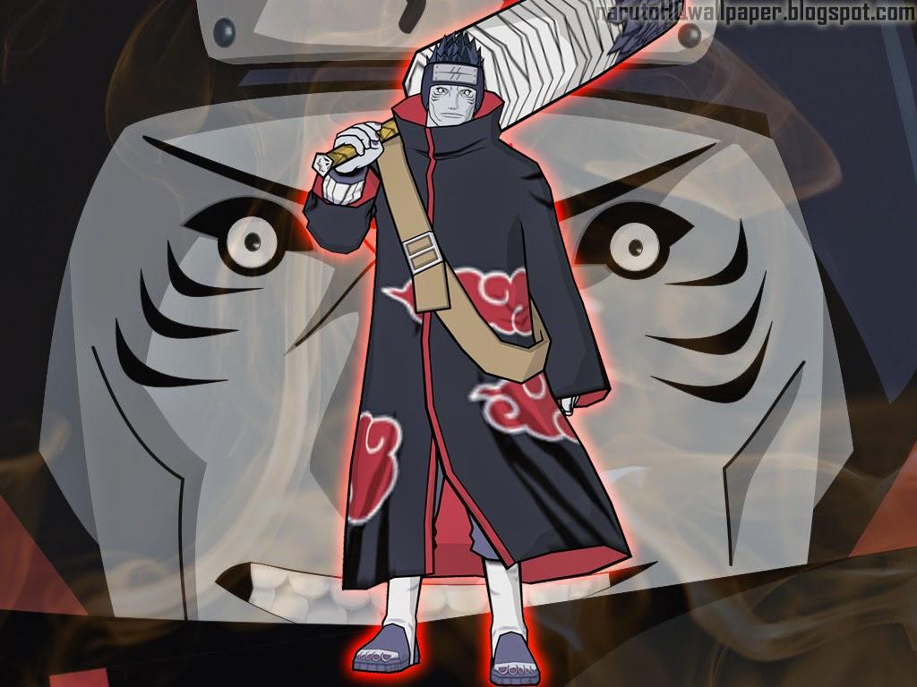 Kisame Hoshigaki With Samehada Sword
