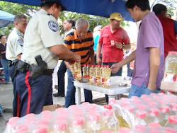 Distribucion de alimentos Decomisados por Indepabis Independencia