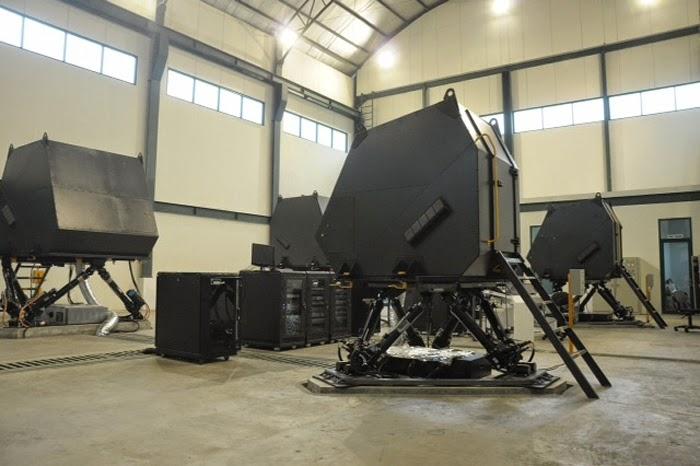 Simulator Multiranpur Tank