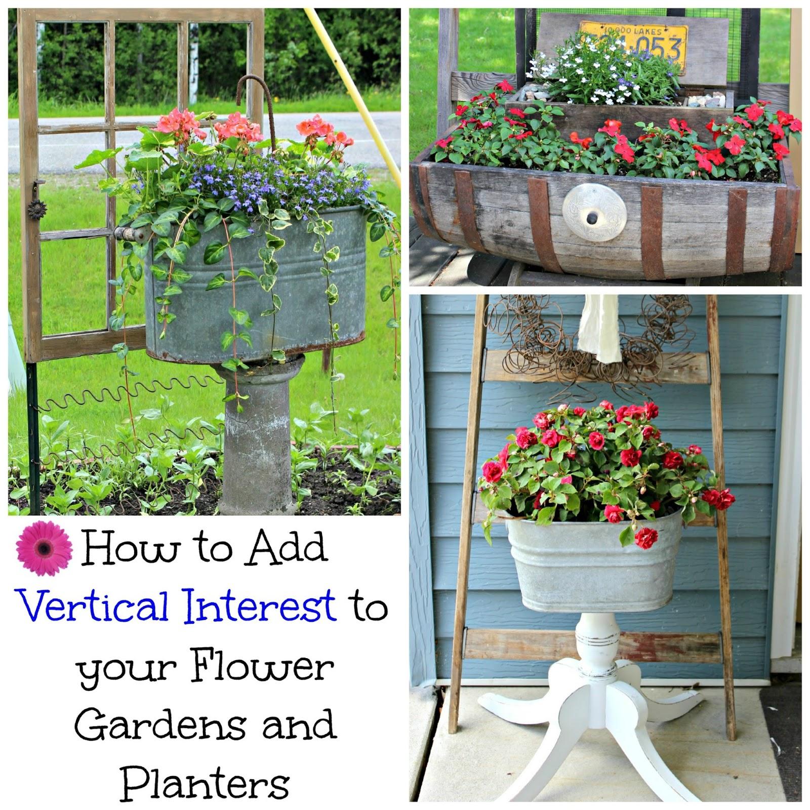 Beautiful Vertical Garden Ideas: How To Add Vertical Interest To The Flower Garden