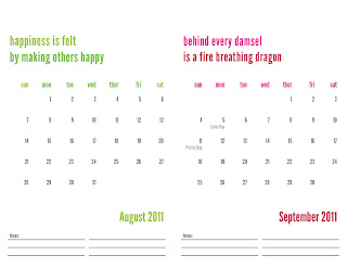 free 2011 calendar print img 4