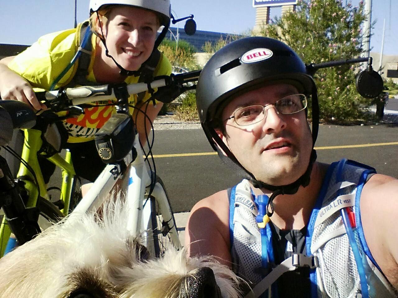 Biking Las Vegas, St Rose Pkwy