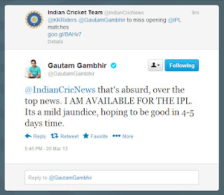 Guatam-Gambhir-Tweet