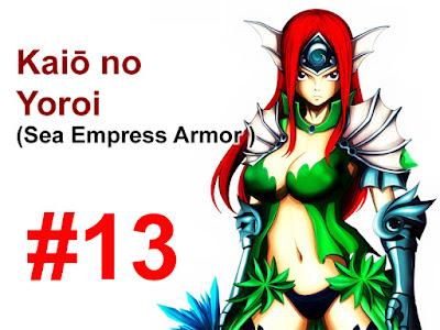 Sea Empress Armor Erza Scarlet