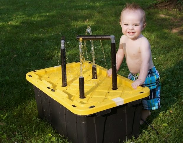 http://www.instructables.com/id/Water-Table-for-the-Kids/