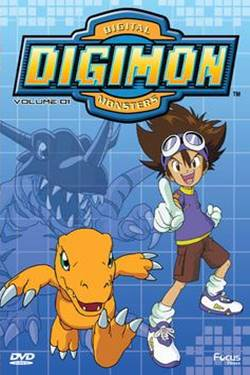 Capa Digimon 1ª a 5ª Temporada Torrent Dublado  Torrent