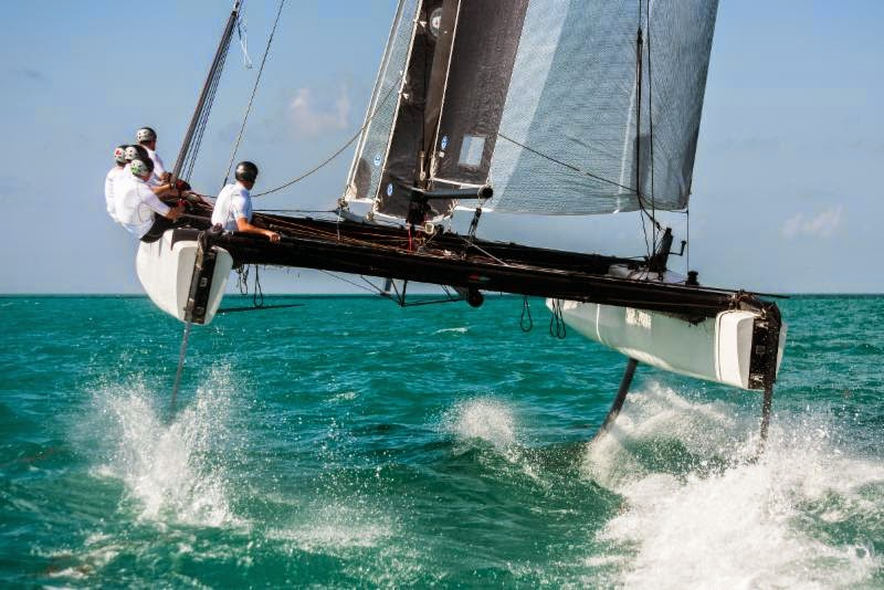 GC32 en action ! Spindrift racing rejoindra le circuit 2015.