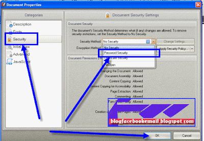 cara membuat kata sandi PDF agar tidak bisa di edit