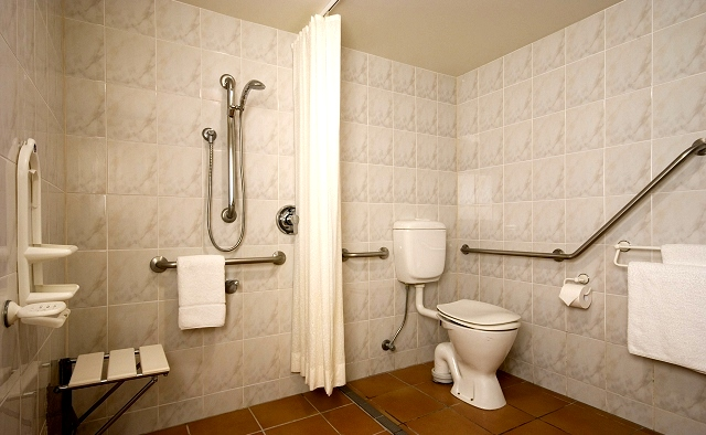 handicap bathroom | Disabled bathroom