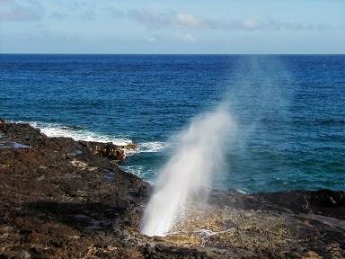 Spouting Horn, Kauai Hawaii