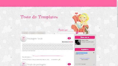 template fre mariana sweet templates gratis layout personalizados teens jovens blog