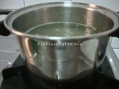 Cách làm nước nha đam đường phèn 3