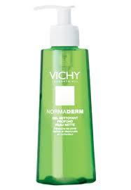 crema para la cara antibrillo piel grasa gel limpiador vichy