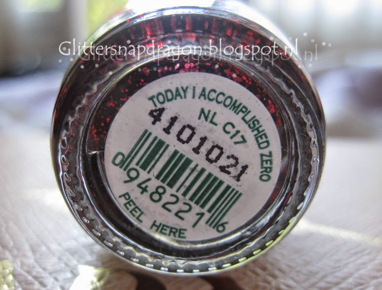 OPI Today I Accompliced Zero