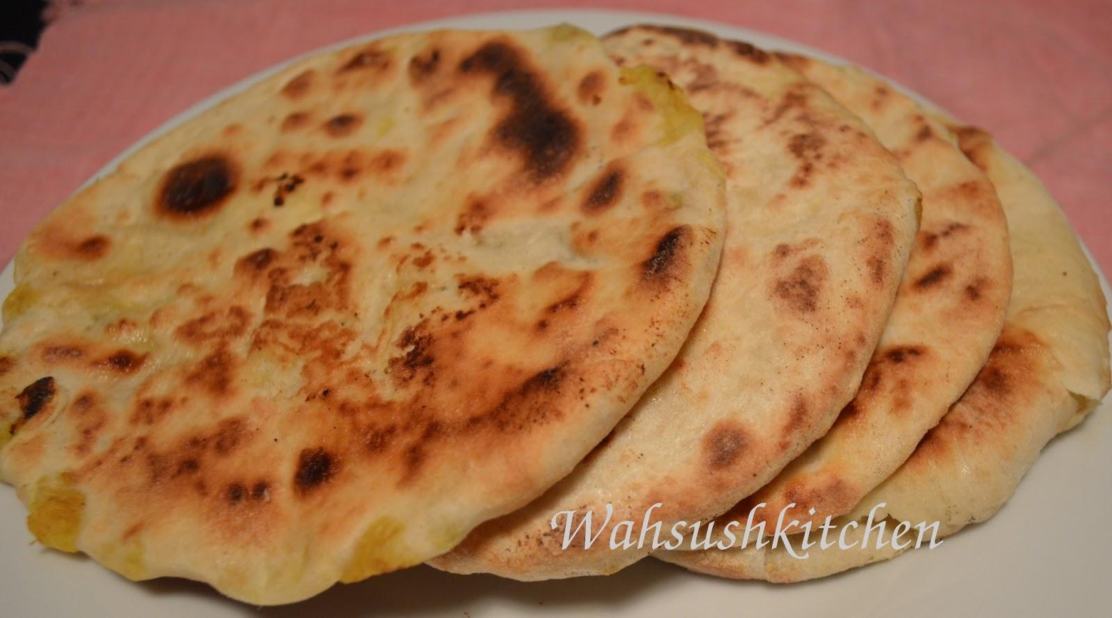 Wahsush kitchen masala nan nan stuffed bread tandoori nan