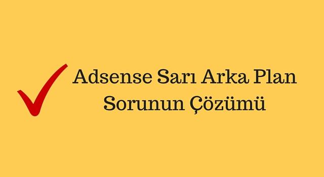 adsense-sari-arkaplan