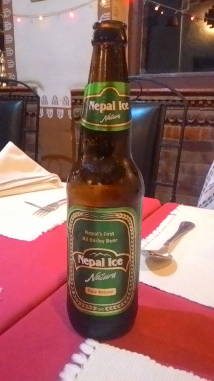 nepal ice beer from nepal