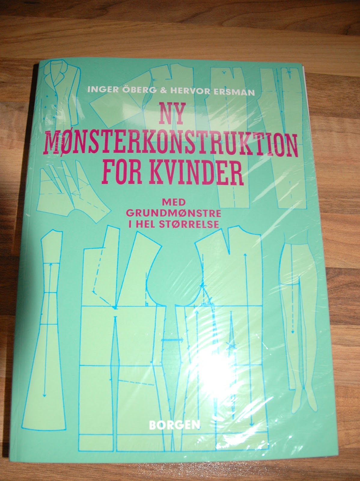 mønsterkonstruktion bog