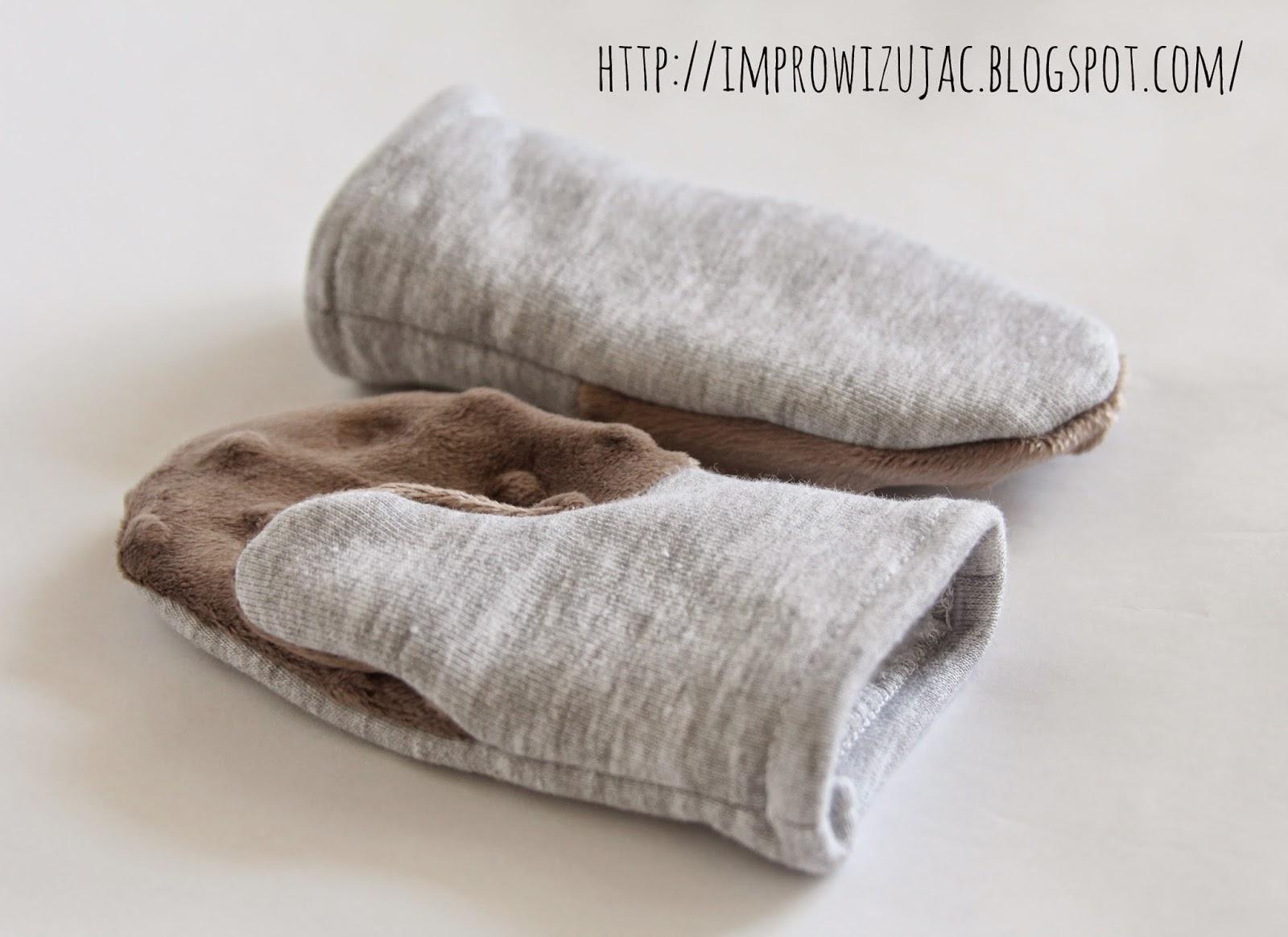 rękawiczki jednopalczaste, z jednym palcem