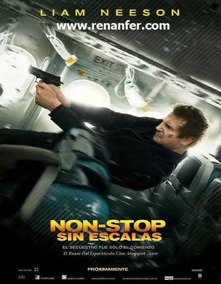 Non-Stop: Sin Escalas 2014 [BRRip][700MB][Latino][AVI][MEGA]