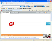 You have to manually remove Ask Search provider from your web browser and .