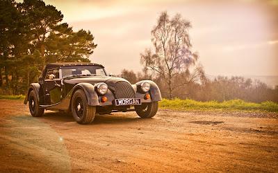 Hermoso auto clásico Morgan Roadster 1920x1200px