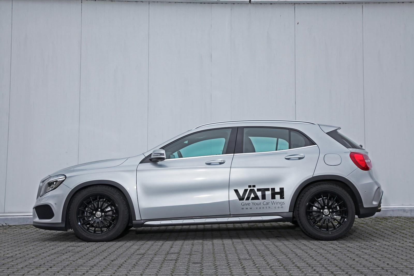 vath adds some spunk to mercedes benz gla 200 carscoops. Black Bedroom Furniture Sets. Home Design Ideas