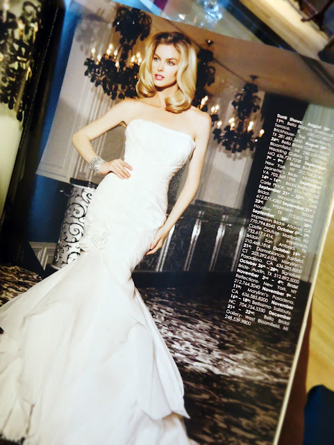 Brides Magazine: Simone Carvalli Bridal Gowns