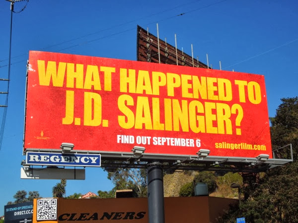 What happened to JD Salinger movie billboard