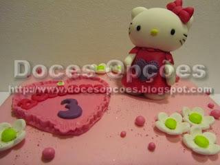bolo aniversário hello kitty bragança
