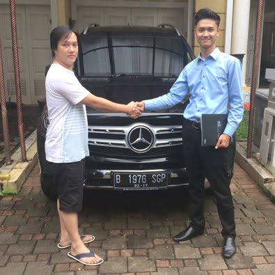 Pembelian GLS 400 Exclusive a/n Bapak Aripin