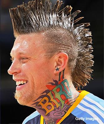 chris anderson tattoos. birdman denver nuggets tattoos