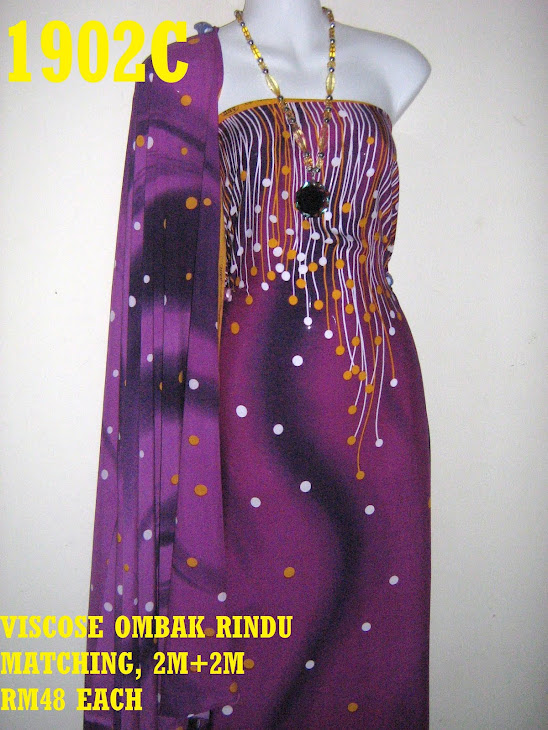 VRM 1902C: VISCOSE OMBAK RINDU MATCHING, 2M+2M