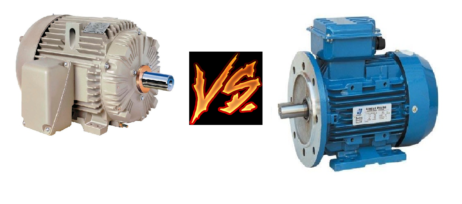 Comparison Between 1 Phase And 3 Phase Motors Motor Hp