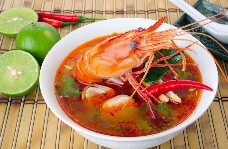 RESEP SEAFOOD TOM YAM KHAS THAILAND ALA RESTO GURIH