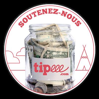 Soutenez nous sur le site Tipeee !