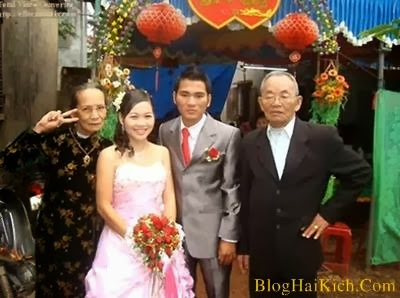 Ảnh vui trong đám cưới