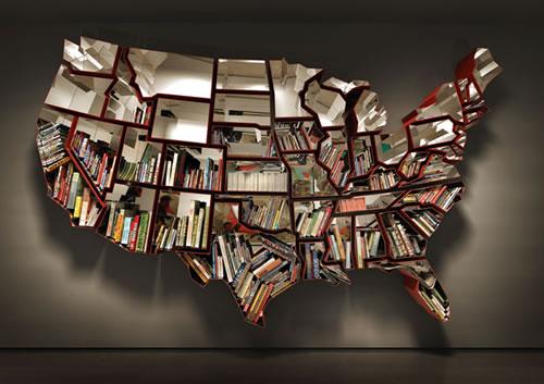 Rak buku peta Amerika Syarikat