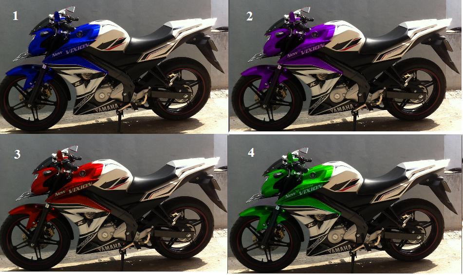 ide modifikasi warna motor vixion