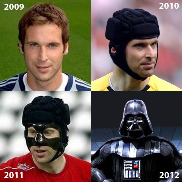 Petr Cech está indo para o lado negro da força