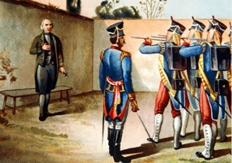 Fusilamiento de Miguel Hidalgo y Costilla