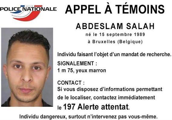 paris terror attack suspect  Abdeslam Salah