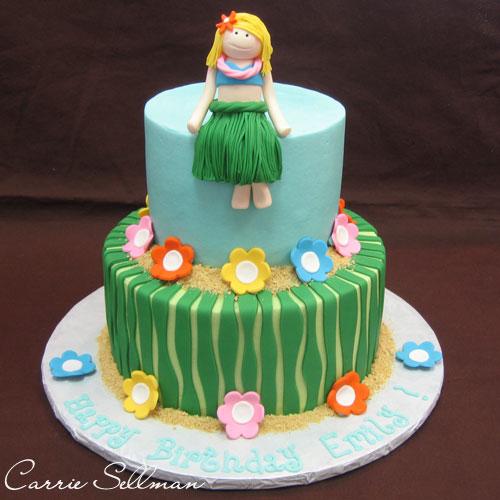 Hula Girl Cake Design : Party Hawaiian on Pinterest 57 Pins