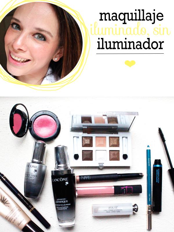 maquillaje iluminado